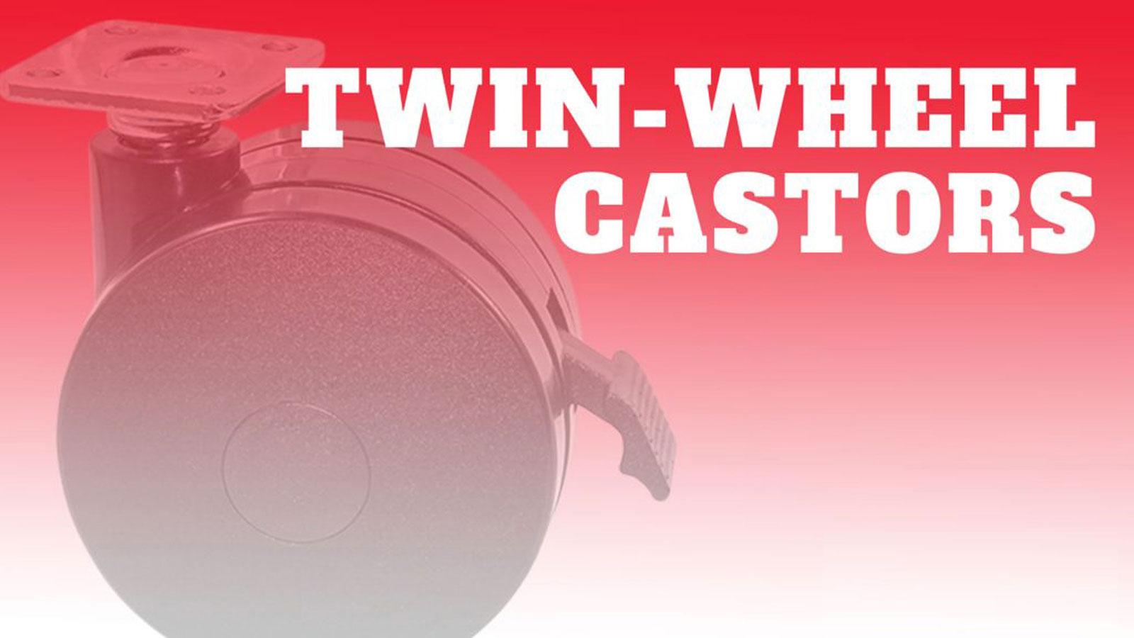 Castor-Twin-Wheels