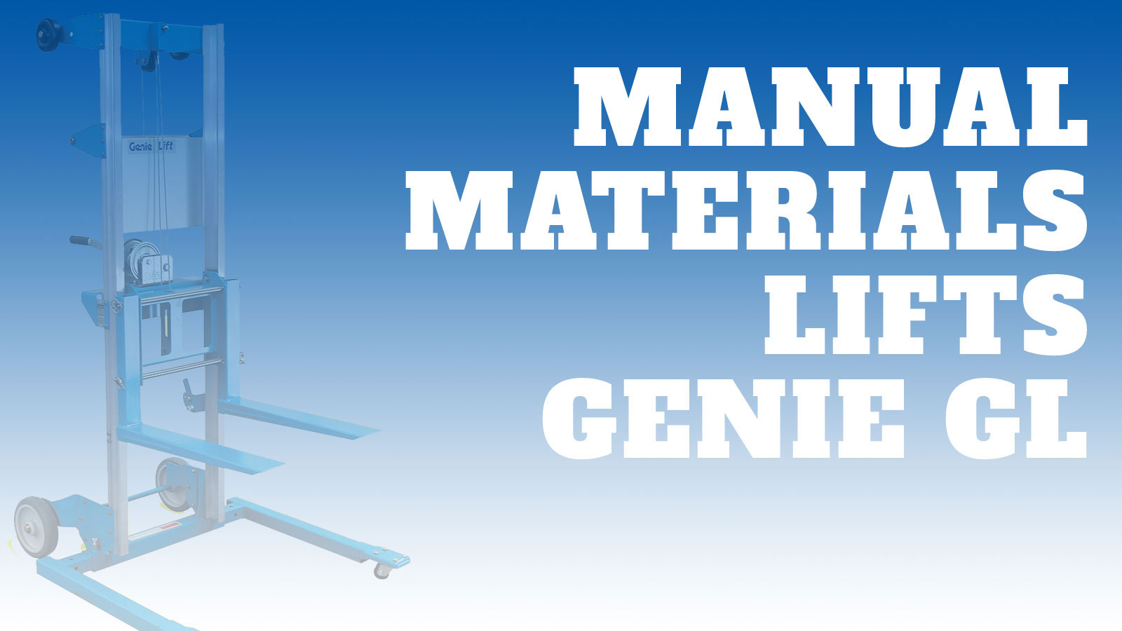 Lifting-Manual-Genie-GL